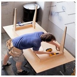 Сборка столов по низким ценам в Чебоксарах от специалистов