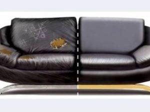 Перетяжка кожаного дивана в Чебоксарах