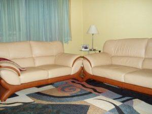 Перетяжка кожаной мебели в Чебоксарах