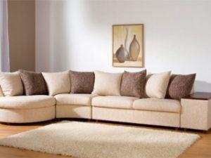 Перетяжка углового дивана на дому в Чебоксарах